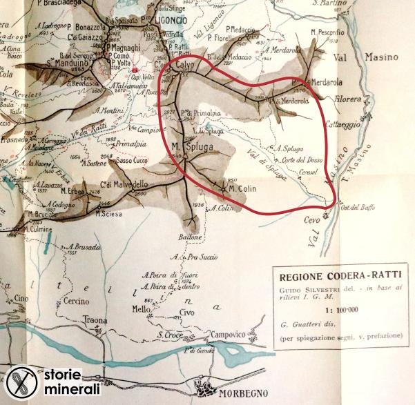 Alpi Retiche Occidentali - Brasca - Silvestri - Balabio - Corti - 1911 - Valle Spluga di Val Masino