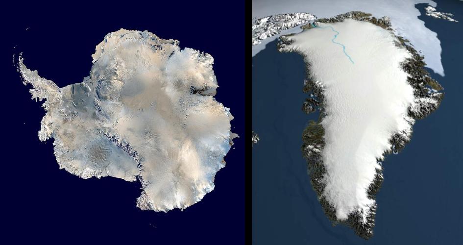Classificazione glaciazioni - Ardito Desio - glaciazione antartica groenlandese