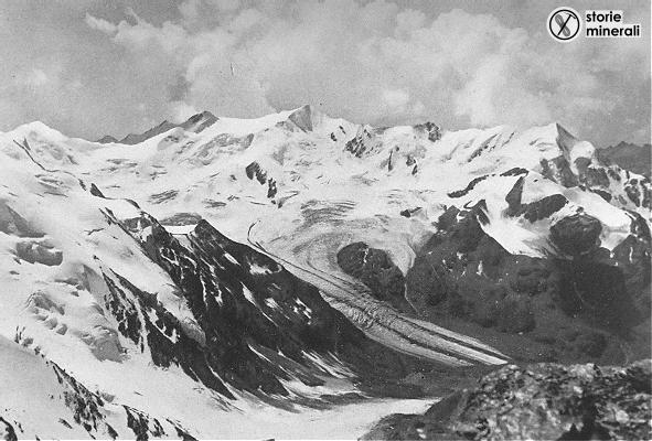 classificazione ghiacciai alpini - ardito desio - ghiacciaio dei forni - ghiacciaio vallivo