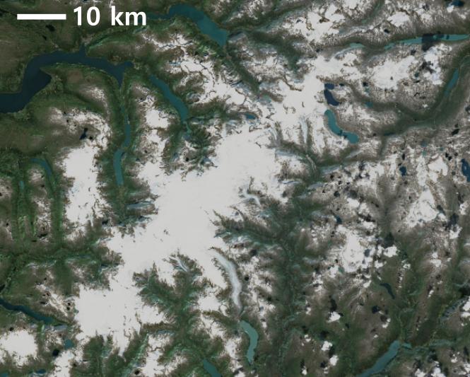 Classificazione glaciazioni - Ardito Desio - glaciazione scandinava - Jostedalsbreen
