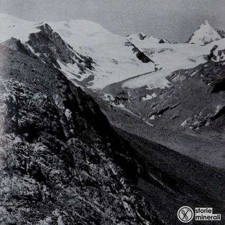 classificazione ghiacciai alpini - ardito desio - vedretta lunga - ghiacciaio vallivo