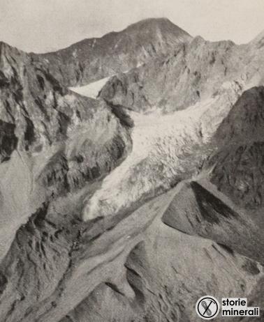 classificazione ghiacciai alpini - ardito desio - vedretta della miniera - ghiacciaio di vallone