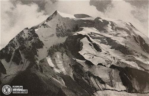 classificazione ghiacciai alpini - ardito desio - vedretta alta dell'ortles - ghiacciaio di vetta