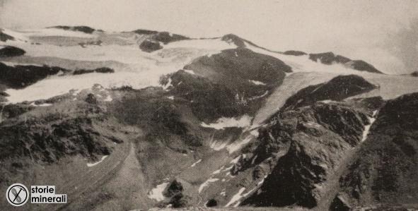 classificazione ghiacciai alpini - ardito desio - vedretta deli campecc e di Profa - ghiacciaio di terrazzo