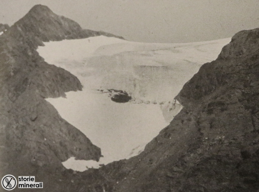classificazione ghiacciai alpini - ardito desio - vedretta meridionale del passo saent - ghiacciaio di sella