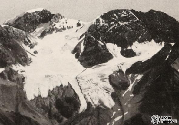 classificazione ghiacciai alpini - ardito desio - vedretta dello zebru - ghiacciaio di vallone