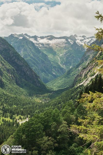 Val di Mello - Ultimo Massimo Glaciale - Valli a U - Massi Erratici - Val Masino - Alpi Retiche