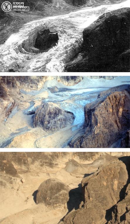 ghiacciaio travignolo - Pale di San Martino - Cambiamento Climatico - Giornata della Terra