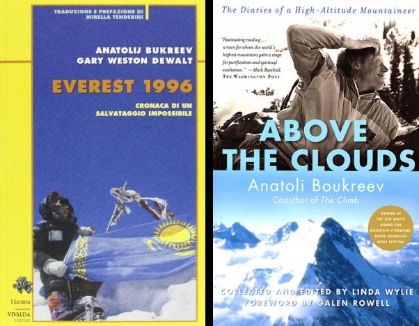 Anatolij Boukreev - Everest 1996 - Above the Clouds - Un posto in cielo